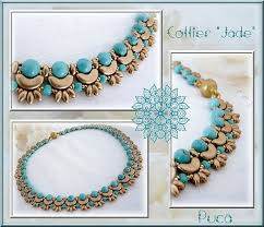 235 best beaded shaped beads necklaces images on pinterest seed