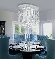 dining room crystal chandeliers lighting ideas modern artistic dining room crystal chandelier