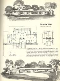 Mid Century Modern House Plan 138 Best Midcentury House Plans Images On Pinterest Vintage