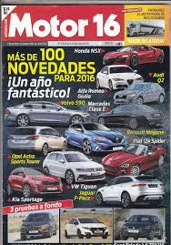 revista motor 2016 revista motor 16 nº 1665 año 2016 prueba hond comprar revistas