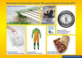 innovative materials innovative materials announced for 2017 bio based award resource