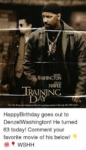 denzel washington ethan hawke training day the only thing more