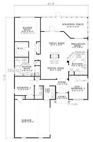 2100 Sq Ft House Plans by Country Style House Plan 3 Beds 2 Baths 2100 Sq Ft Plan 430 45