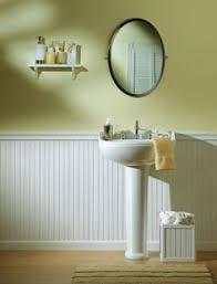 Chair Rail Ideas For Bathroom - beadboard wallpaper and foam chair rail for the home pinterest