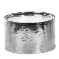 bout de canapé alinea table basse en aluminium aluminium ziro les tables basses