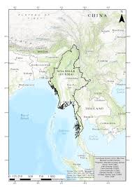Irrawaddy River Map Research In Myanmar U2014 Department Of Geography University Bonn