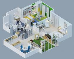 Design My Own Floor Plan For Free 260 Best 3d Floor Plans Images On Pinterest Floor Plans Guest