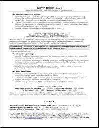 investment banking resume resume sample