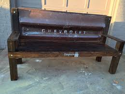 bench order buy a handmade chevy tailgate bench made to order from grit
