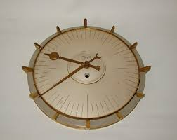 Interesting Wall Clocks Amazing 1960s Wall Clock 126 1960 U0027s Kitchen Wall Clocks S Sunburst