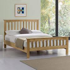 solid oak bed frames ebay