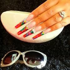 day 66 spring bling nail art nails magazine
