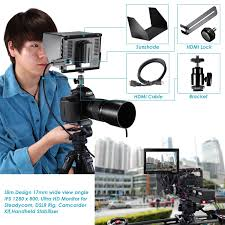 amazon com neewer nw759 7inch 1280x800 ips screen camera field