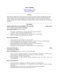 Resume Sample Html by Canada Resume Format Sample Resume Format