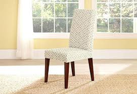 dining chairs slipcovers dining chair slipcovers outstanding sure fit dining room chair