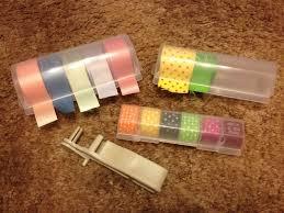 ribbon dispenser large washi and ribbon dispenser