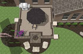 Patio Layouts by Large Brick Patio Design With Grill Station Bar Downloadable