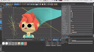 using the sketch and toon cel shader in c4d cg tutorial