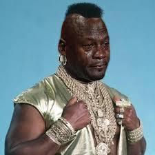 Michael Jordan Crying Meme - mr t crying michael jordan know your meme