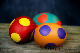Easter Egg Decorating Ideas Angry Birds by Quick Kids Craft Easy Spotty Eggs Red Ted Art U0027s Blog