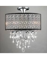 Drum Chandelier Lighting On Sale Now 10 Off First Lighting Agena 4 Light Drum Chandelier