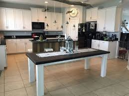 kitchen island makeover diy barn wood hometalk