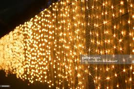 lights hanging a wall stock photo getty images