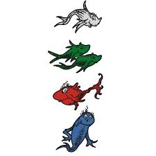 dr seuss fish coloring page clipart panda free clipart images