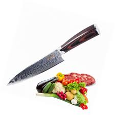 high carbon kitchen knives chefs knife 8 inch japanese vg10 super steel 67 layers high carbon