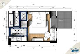 Cote D Azur Floor Plan by Studios U2013 Seven Seas Cote D U0027azur U2013 Mediterranean Condo Resort Thailand