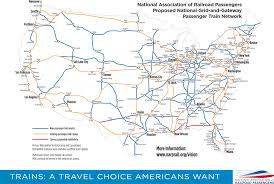 Dc Metro Rail Map by Narp U0027s Vision For Trains In America National Association Of