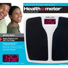 Bathroom Scale Battery Health O Meter Led Split Mat Bath Scale Walmart Com