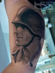 soldier tattoo by zoran by tattoohardcore on deviantart