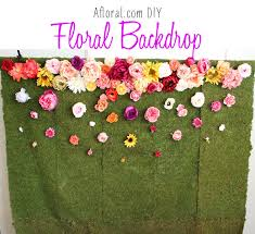 diy photo backdrop afloral diy floral backdrop afloral wedding