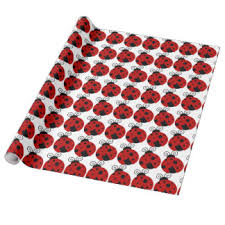 ladybug wrapping paper ladybird wrapping paper zazzle