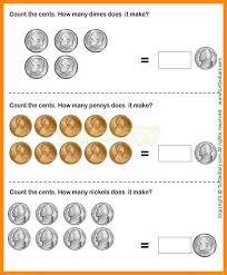 kindergarten money worksheets bake sale worksheet education 4