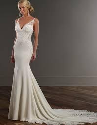 v neck mermaid wedding dress vosoi com