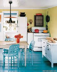 Beachy Kitchen Table by Our Favorite Kitchens Martha Stewart