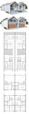 narrow lot house plans uncategorized duplex floor plan for narrow lots dashing inside