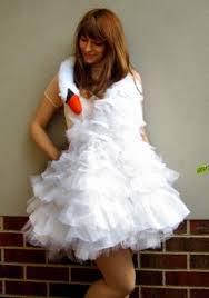 swan dress costume tutorial for the bjork swan dress