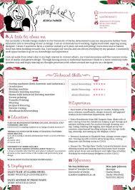 fashion resume examples cake decorator resume sample dalarcon com cv jessica parker fashion by jswoodhams on