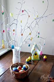 easter egg tree how to make an easter tree centerpiece rhythms of play
