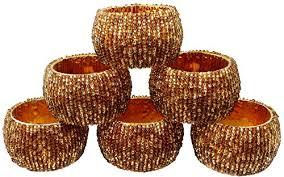 fall season and thanksgiving napkin rings