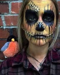 Halloween Scarecrow Costume Pretty Af Scarecrow Pretty Makeup Scarecrows Makeup