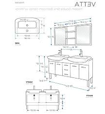 bathroom vanity dimensions standard standard mirror sizes for
