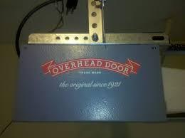 Overhead Door Opener Manual Overhead Garage Door Opener Programming Garage Doors