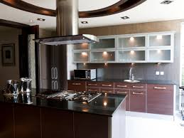 modern black kitchens dark granite countertops hgtv