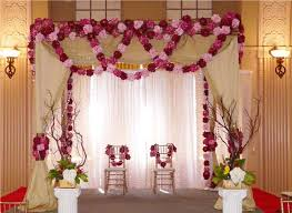 wedding backdrop canopy pretty wedding stage idea from http altangallery awesome