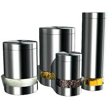 stainless steel kitchen canisters stainless kitchen canisters country kitchen canister set for tea