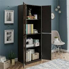black kitchen pantry cupboard kitchen pantry storage cabinet cupboard organizer wood shelves black